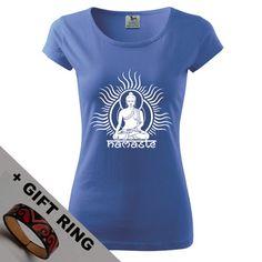 Women's Buddha shirt gift in many colours by DrasiShop on Etsy