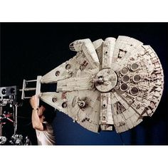 From the crawl to the cantina: how Star Wars was designed Millennium Falcon Model, Film Trilogies, Fiction Film, Science Fiction, Star Wars Spaceships, Star Wars Models, Star Wars Film, Star Trek, Episode Iv
