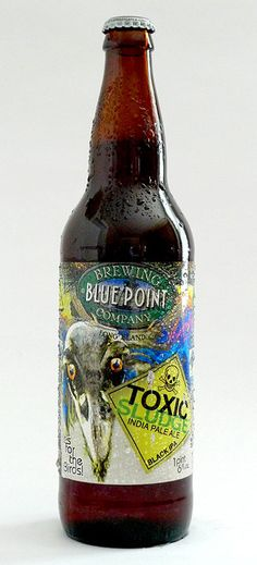 Blue Point Brewing Company's Toxic Sludge Black IPA - Brand ID © 2010
