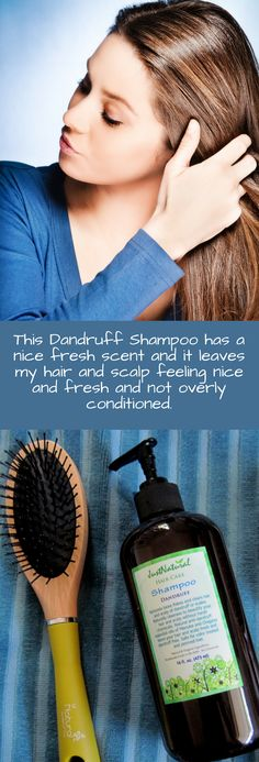 Rescue your scalp from harsh chemical dandruff shampoos that may cause scalp irritation and lead to increased dandruff flaking.