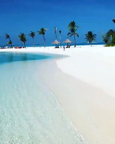 Paradise on earth 💙 maldives 🌴 vacation places, dream vacations, vacation spots, places Beautiful Places To Travel, Most Beautiful Beaches, Romantic Travel, Amazing Places On Earth, Romantic Vacations, Romantic Getaways, Vacation Places, Dream Vacations, Vacation Spots