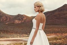 """Brautkleid Manilla aus der Marylise Brautmoden Kollektion 2015 :: bridal dress from the 2015 Marylise collection """"Les nouvelles femmes"""" by Misolas"""