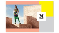 M Missoni Spring Summer 2014 produced in Morocco Fashion Advertising, Advertising Campaign, M Missoni, Magazine Front Cover, Italian Fashion, Colorful Fashion, Designer Collection, Summer Collection, Two Piece Skirt Set