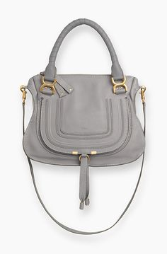 Chloe MARCIE BAG IN GRAINED CALFSKIN 3S0860-161-06T CASHMERE GREY