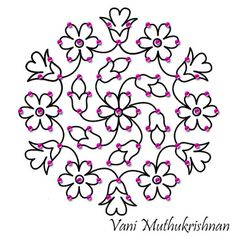 32 Ideas Flowers Drawing Tattoo Embroidery Designs For 2019 Indian Rangoli Designs, Rangoli Designs Flower, Rangoli Border Designs, Small Rangoli Design, Rangoli Patterns, Rangoli Ideas, Rangoli Designs With Dots, Rangoli Designs Images, Flower Rangoli