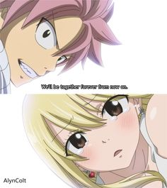 Fairy Tail | Natsu and Lucy.. Together forever!