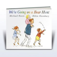 We're Going on a Bear Hunt books by Michael Rosen - Big Book and Picture Book