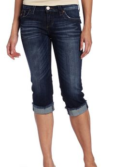Kut From The Kloth Natalie Crop Jeans I love cropped jeans!~