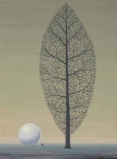 René Magritte (1898-1967)  La recherche de l'absolu