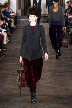 Are those pantaloons?? Love it, very Russian, Cossack, whatever....Ralph Lauren 2013