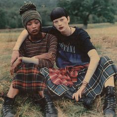 Grunge and Glory, Steven Meisel, Vogue Dec 1992. PERFECT.