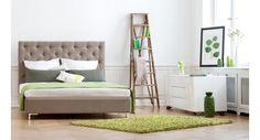 Bett Tilia hoch Stoff Josie  #furniture #bed #berlin #homedecor #inspiration