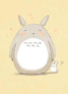 sutekitten:  ~ Totoro cute ART