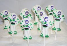 Chocolate Astronaut Lollipops by candycottage on Etsy, $16.50