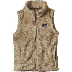 Patagonia - Los Gatos Fleece Vest - Girls' - El Cap Khaki