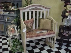 Junk Furniture Ideas   These 3 ideas come from Salvaged Treasure, click the picture to go to ...
