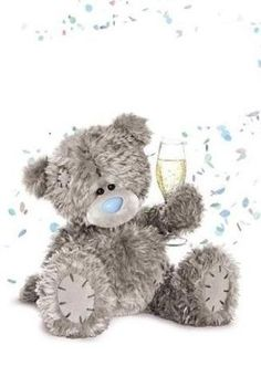 Holographic Congratulations To You Me to You Bear Card Tatty Teddy, Bear Wedding, Teddy Bear Pictures, Hipster Wallpaper, Blue Nose Friends, Bear Graphic, Bear Card, Congratulations To You, Love Bear