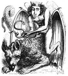 Astaroth (also Ashtaroth, Astarot and Asteroth), in demonology, is the Great Duke of Hell, in the first hierarchy with Beelzebub and Lucifer; he is part of the evil trinity. He is a male figure most likely named after the Mesopotamian goddess Ishtar. Evil Demons, Angels And Demons, Vintage Gallery, Gravure Photo, Grand Duc, Arte Obscura, Arte Horror, Necromancer, Monster