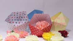 Isocaedro de papel Origami DIY