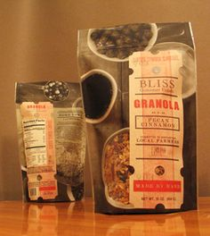 We LOVE this granola-- especially in the Butterscotch Pecan variety. Locally made in MN, it also has adorable packaging!