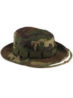Rothco Vintage Woodland Camo Boonie Hat 788bd9b75854