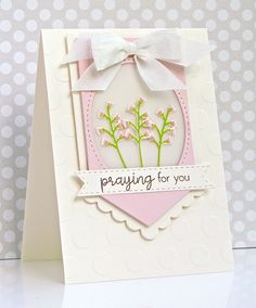 Praying For You Card by Michelle Leone for Papertrey Ink (May 2017)