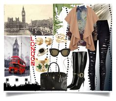 """London Calling"" by jeneric2015 ❤ liked on Polyvore featuring York Wallcoverings, Valentino, Gucci, Katherine Karambelas, Eddie Borgo, Blue Nile, Jennifer Fisher, CÉLINE, women's clothing and women"
