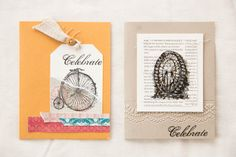 Quick and stunning cards using the Feeling Sentimental stamp set.