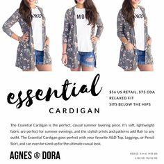 d3f0f3bfc3e95 Agnes & Dora Essential Cardigan H Style, Lightweight Cardigan, My Boutique,  Fashion Boutique
