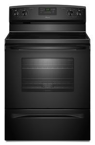 Amana 4.8 cu. ft. Electric Range w/ Spillsaver Ceramic Upswept Cooktop  ($700 value) - GIVEAWAY