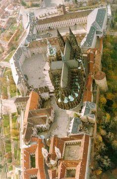 Castelo e Catedral de S. Vito Praga. República Checa