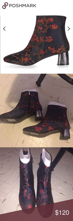 Jeffrey Campbell NOT JEFFREY CAMPBELL !! These boots are from a U.K website  !! Brand new and never been worn !! Size is a U.K size 42 which is a True U.S size 11 !! These would also fit a U.S size 10.5 with socks !!! 😡NO TRaDE😡 purchased for $150 These floral boots will have all eyes on you !! Offers are welcome !! I won't accept LOW BALL OFFERS! These boots are on Trend and hard to find !!! It is Currently sold out online!!! I got the last pair!! Listed as Jeffrey Campbell for more…