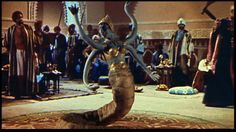 Snake woman, Seventh Voyage of Sinbad, Ray Harryhausen