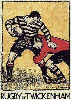 Rugby Poster, A4 Poster, Poster Prints, Art Prints, Bike Poster, Rugby Pictures, Print Pictures, Rugby Images, Vintage Posters