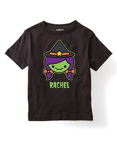 Look at this Black Witch Personalized Tee - Toddler & Girls on #zulily today!