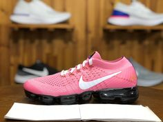 7747cd9599e8 2018 Nike Air Vapormax Flyknit Girls Shoe Dragonball Pink White Black AA3859 -017