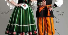 Traditional polish costume Lowicz Poland; http://ift.tt/2if3Qn1