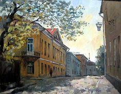 Соколова Елизавета. Тихая улица.Выборг..jpg (900×705)