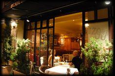 Cafe Bizou Restaurant, Three Locations: Sherman Oaks CA, Pasadena CA, and Santa Monica CA