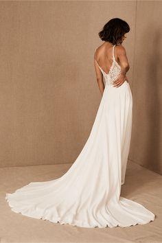 Bridal Outfits, Bridal Gowns, Wedding Gowns, Bhldn Wedding Dress, Elopement Wedding, Tulle Wedding, Wedding Attire, Wedding Bells, Eddy K