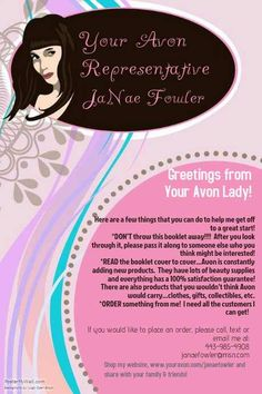 52 best Avon brochure notes images on Pinterest   Avon sales  Avon     Help me with my Avon business   ORDER something from me  I need all the