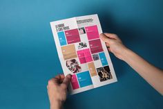 Colourful Grid #Layout #Design #Magazine #Editorial #Brochure