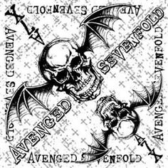 Avenged Sevenfold White Cross Bandana - Cotton Bandana - Printed on one side - Can be as a banner of your wall - Hand wash - Actual size x Heavy Metal Fashion, Metal Shirts, Cotton Bandanas, Avenged Sevenfold, White Crosses, Bandana Print, Cross Designs, Rock N Roll, Vintage World Maps