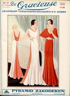 De Gracieuse cover, 1932