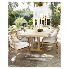Sophia Outdoor Dining Furniture ❤ liked on Polyvore featuring home, outdoors, patio furniture, outside patio furniture, outdoors patio furniture, outdoor garden furniture, outdoor furniture and outdoor patio furniture