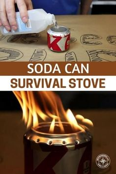 Soda Can Survival Stove - This is a step by step process that will offer you a way to build a legitimate stove that can be made using soda cans. You can boil water, cook food and even heat yourself in a survival situation. #prepping #preparedness #prepper #survival #shtf #survivalstove #diystove