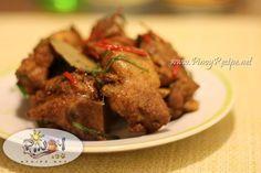 Adobong Baboy or Pork Adobo http://www.pinoyrecipe.net/adobong-baboy-recipe-or-pork-adobo/