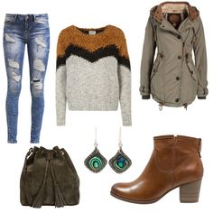 OneOutfitPerDay 2015-10-25 - #ootd #outfit #fashion #oneoutfitperday #fashionblogger #fashionbloggerde #frauenoutfit #herbstoutfit - Frauen Outfit Frühlings Outfit Herbst Outfit Outfit des Tages Schnäppchen Winter Outfit Bogner firetti Naketano Noisy may Pier One Vero Moda