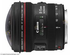 CANON EF 8-15 mm en stock à prix discount - Miss Numerique