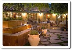Copley's - www.copleyspalmsprings.com/ on Palm Canyon is one of the best Palm Springs dining places, formerly Cary Grant's estate now a restaurant